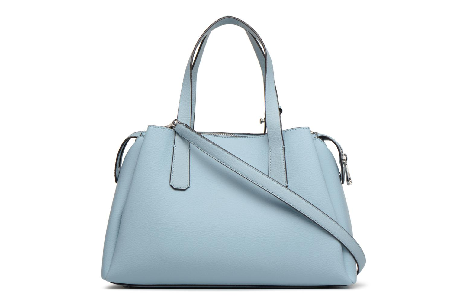 Sacs à main Guess Trudy Girlfriend Satchel Bleu vue face