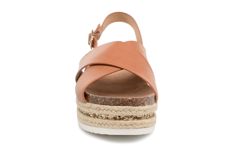 Sandals MTNG Roxan Brown model view