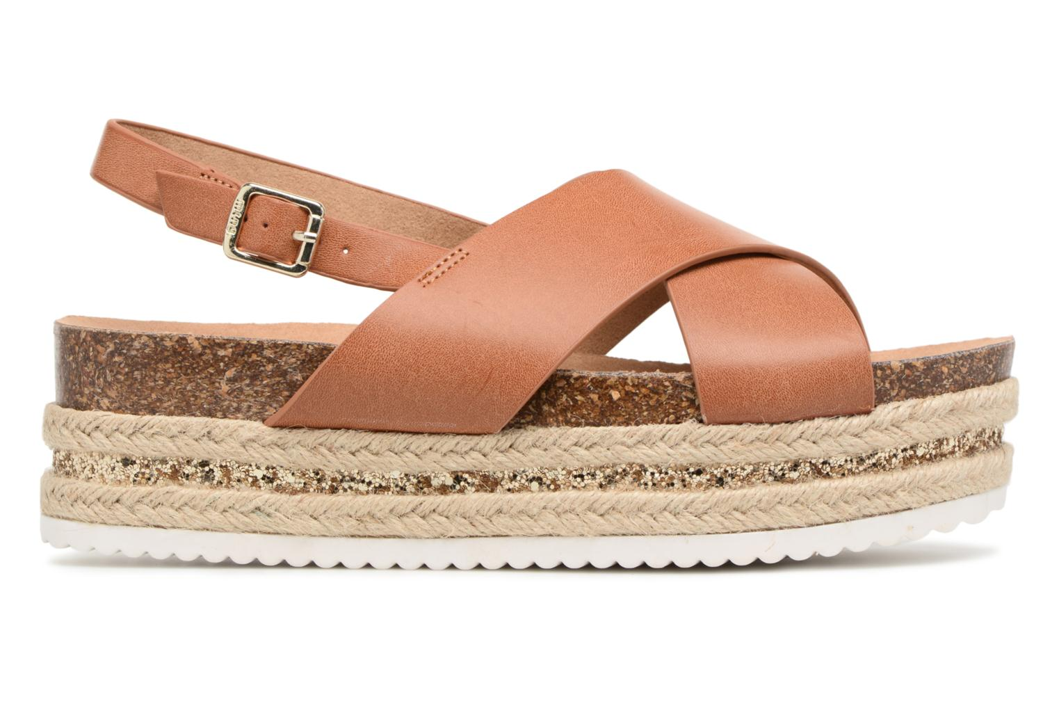 Sandals MTNG Roxan Brown back view
