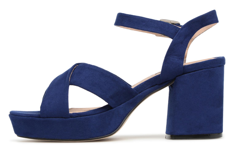 Sandales et nu-pieds MTNG Isquina Bleu vue face
