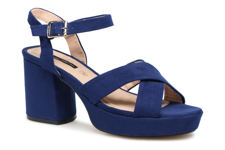 Sandales et nu-pieds MTNG Isquina Bleu vue détail/paire