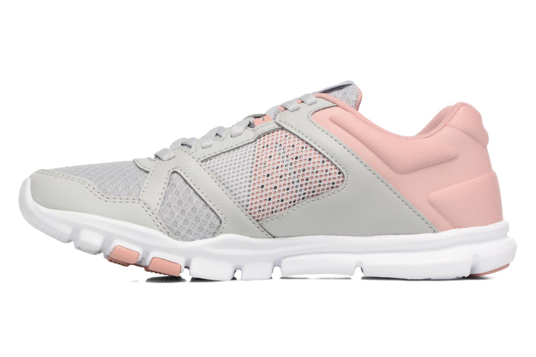 Chaussures de sport Reebok Yourflex Trainette 10 Mt Gris vue face