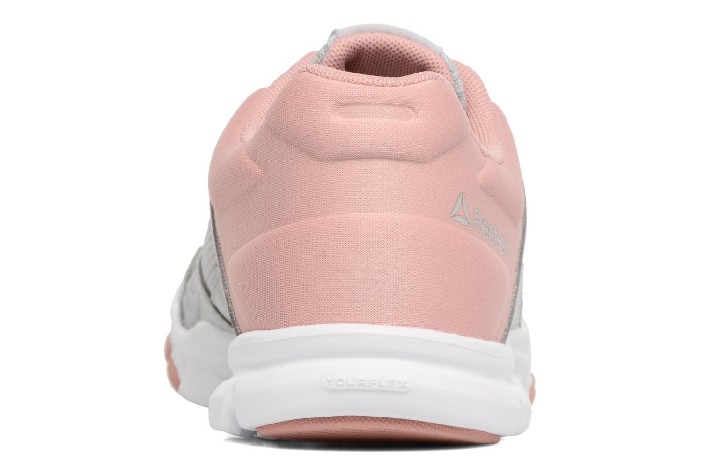 Chaussures de sport Reebok Yourflex Trainette 10 Mt Gris vue droite