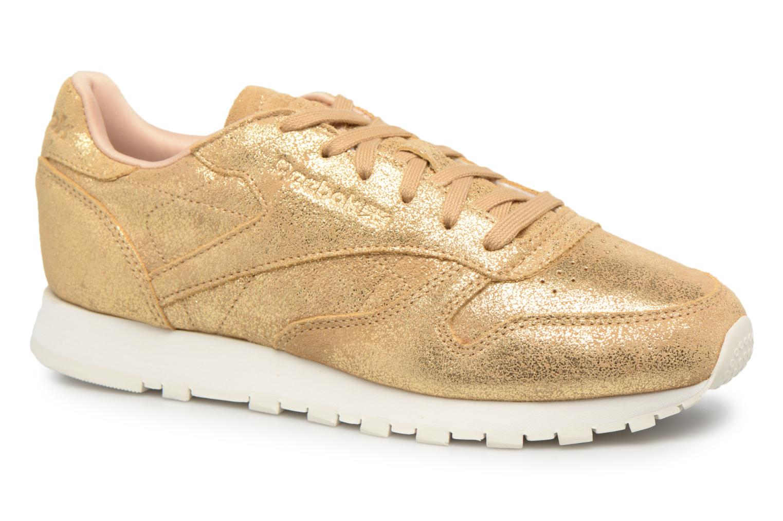 ClassicLeather Shimmer Xj Gold/Chalk