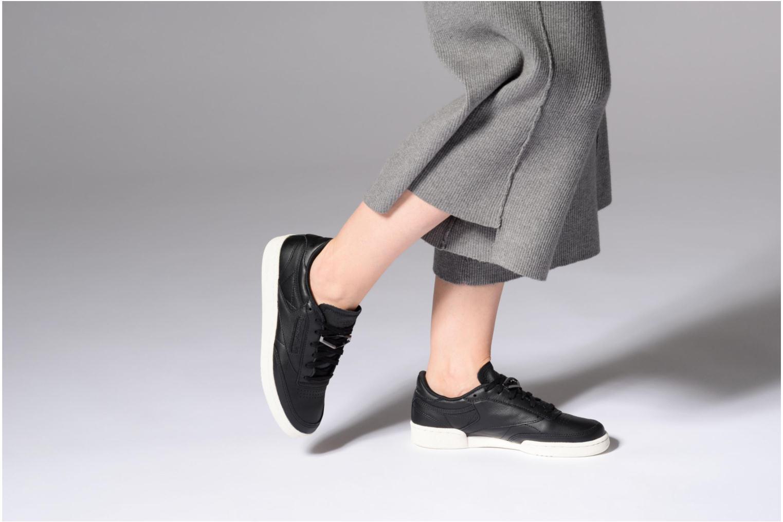 Sneakers Reebok Club C 85 Hrdware Zwart onder