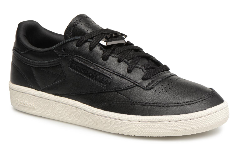 Sneakers Reebok Club C 85 Hrdware Zwart detail
