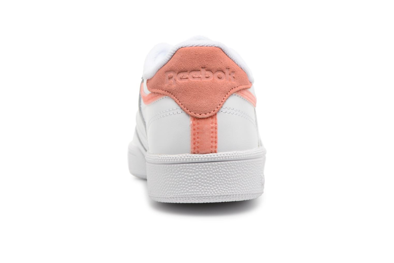 Zapatos promocionales Reebok Club C 85 Trim Leather (Blanco) - Deportivas   Cómodo y bien parecido
