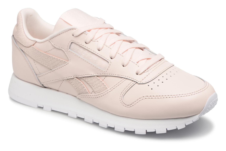 Zapatos promocionales Reebok ClassicLeather Ps Pastel (Rosa) - Deportivas   Zapatos casuales salvajes