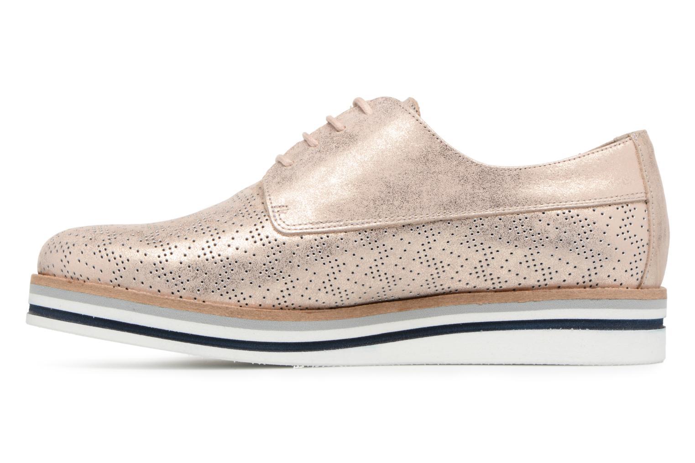 Chaussures à lacets Dorking Romy 7512 Argent vue face