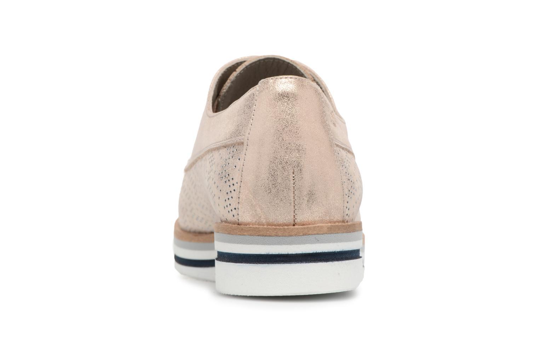 Chaussures à lacets Dorking Romy 7512 Argent vue droite