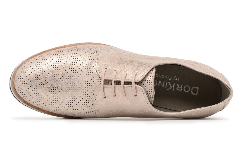 Chaussures à lacets Dorking Romy 7512 Argent vue gauche