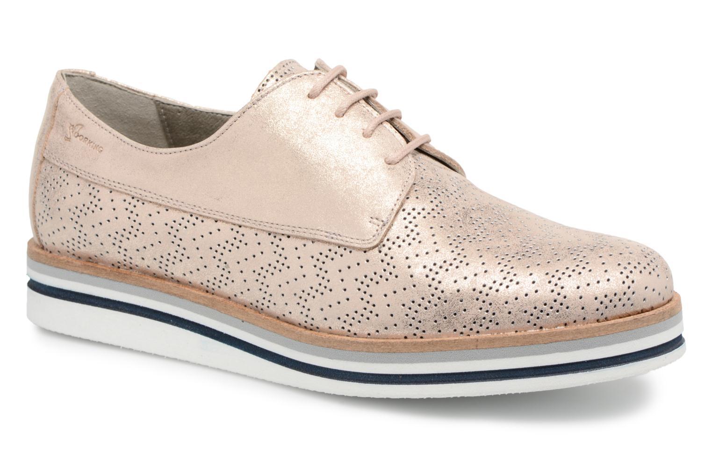 Chaussures à lacets Dorking Romy 7512 Argent vue détail/paire