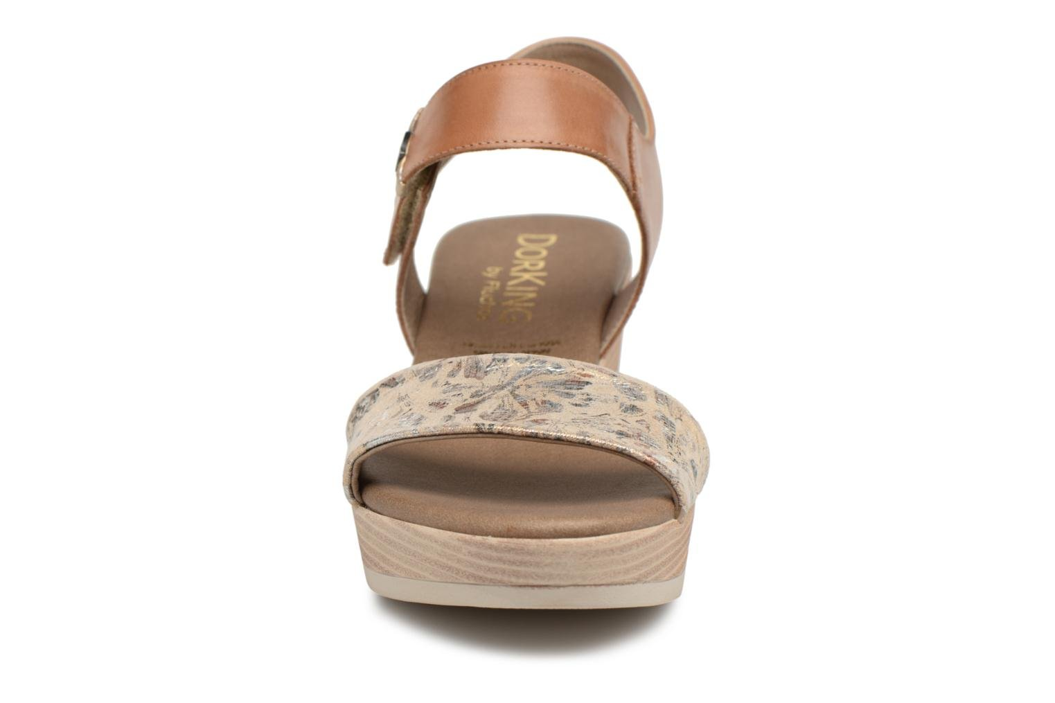 Sandals Dorking Babor 7141 Brown model view