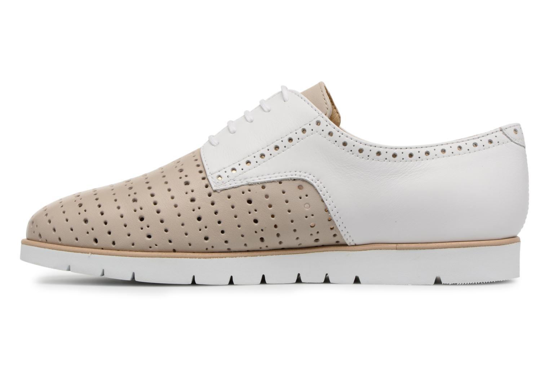 Chaussures à lacets Geox D KOOKEAN D D824PD Beige vue face
