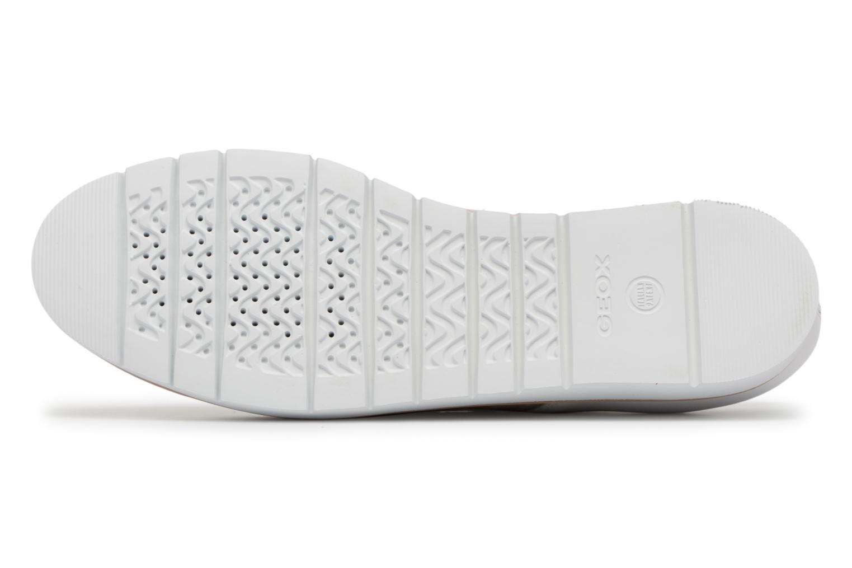 Chaussures à lacets Geox D KOOKEAN D D824PD Beige vue haut