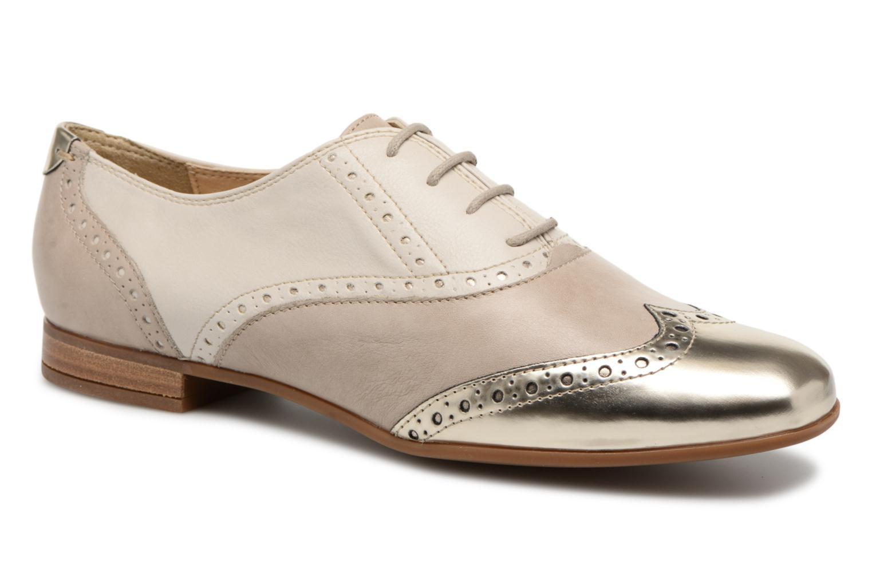 Grandes descuentos últimos zapatos Geox D MARLYNA C D828PC (Beige) - Zapatos con cordones Descuento