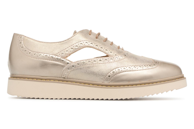 Chaussures à lacets Geox D THYMAR A D824BA Or et bronze vue derrière
