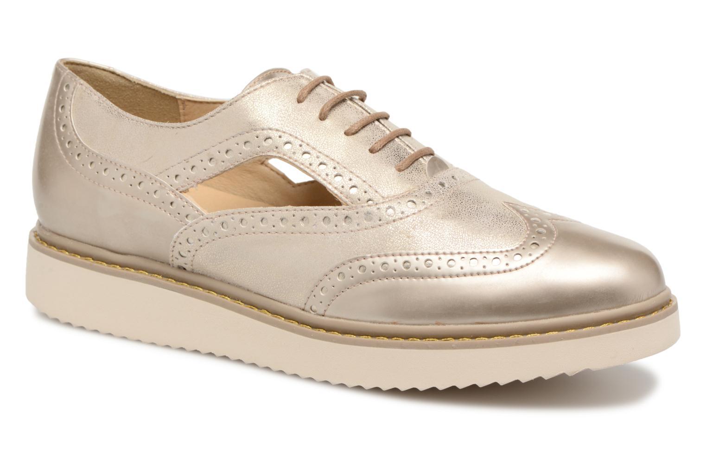 Zapatos casuales salvajes Geox D THYMAR A D824BA (Oro y bronce) - Zapatos con cordones en Más cómodo