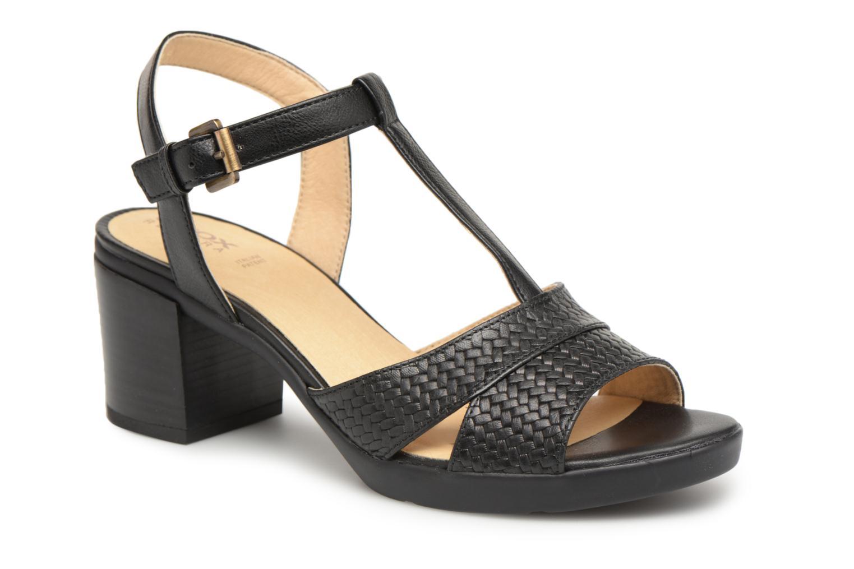89258761 Grandes descuentos últimos zapatos Geox D ANNYA M.S.B D827XB (Negro) -  Sandalias Descuento