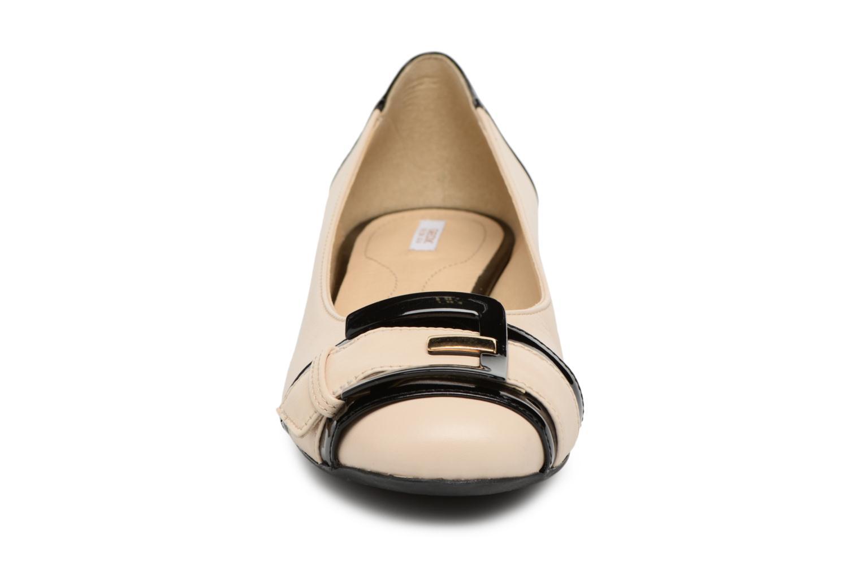 Ballerinas Geox D WISTREY E D824GE schwarz schuhe getragen