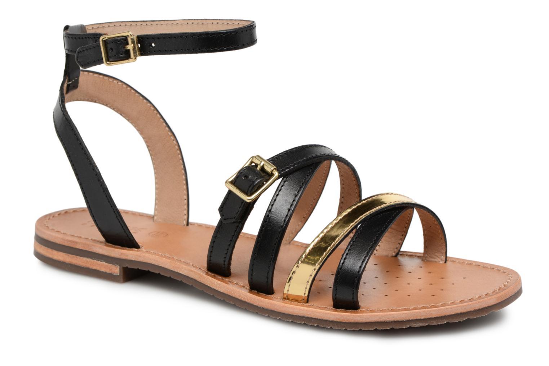 Zapatos promocionales Geox D SOZY B D822CB (Negro) - Sandalias   Los zapatos más populares para hombres y mujeres