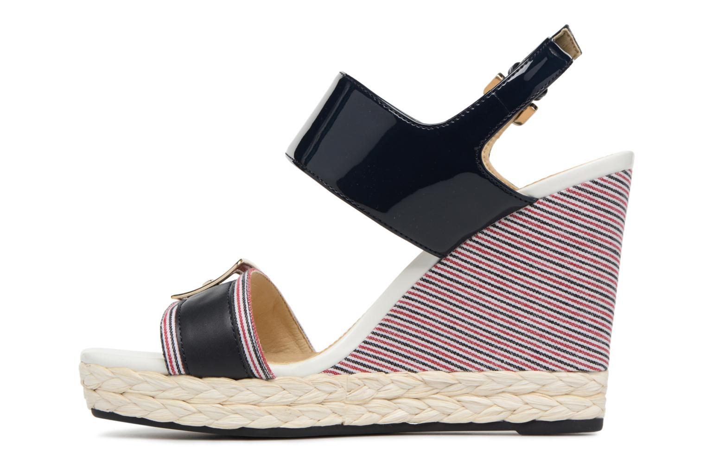 Sandales et nu-pieds Geox D JANIRA E D82P6E Bleu vue face