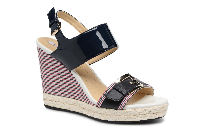 Grandes descuentos últimos zapatos Geox D JANIRA E D82P6E (Azul) - Sandalias Descuento
