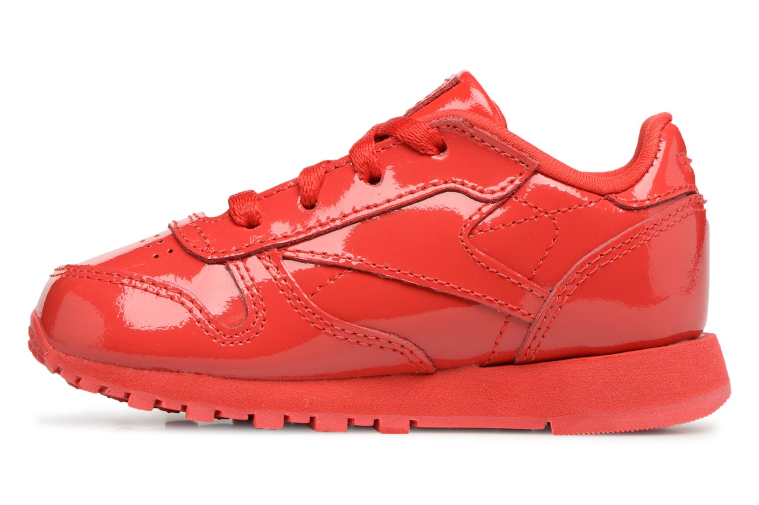 Sneakers Reebok Classic Leather Patent I Rosso immagine frontale