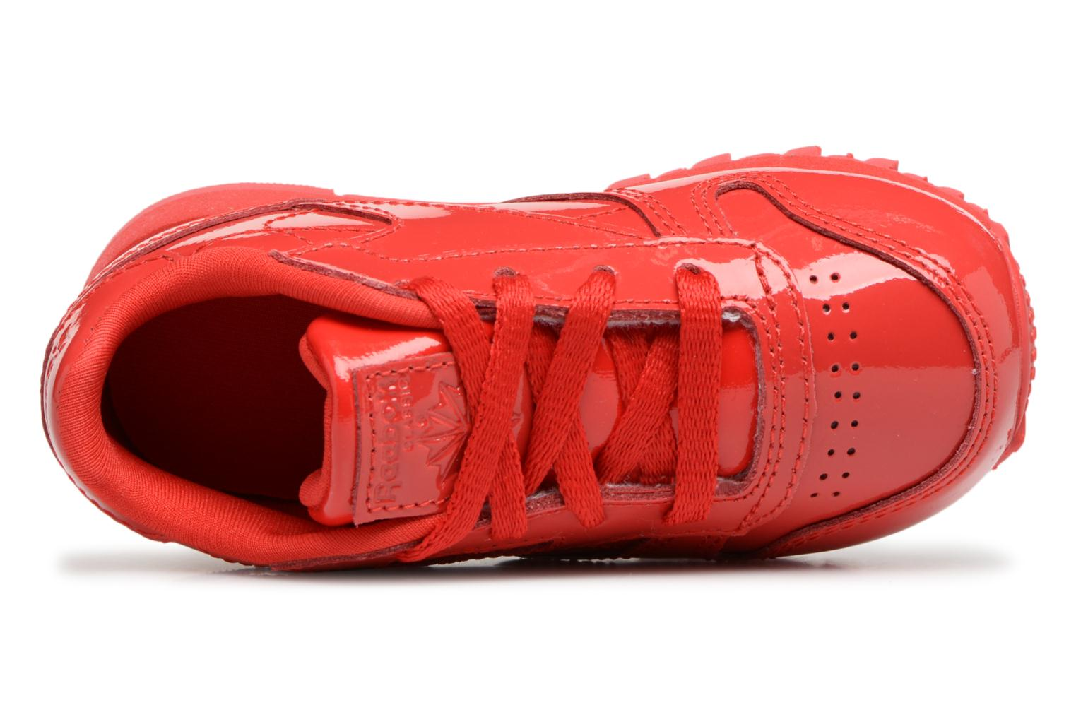 Sneakers Reebok Classic Leather Patent I Rosso immagine sinistra