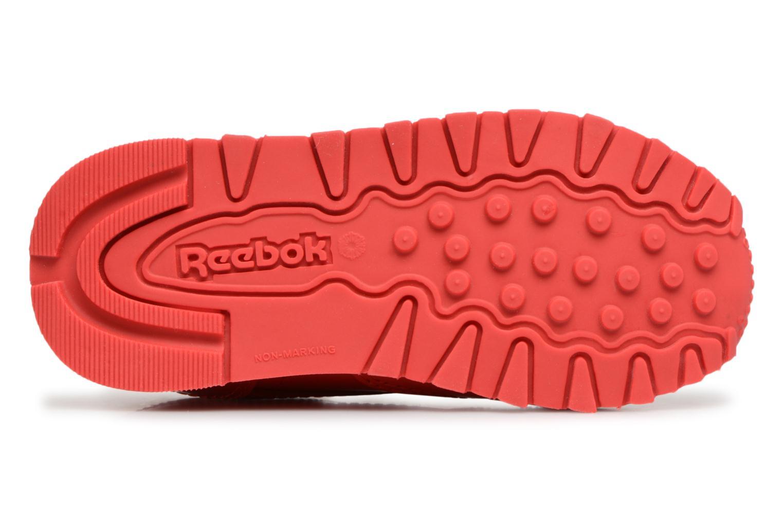 Sneakers Reebok Classic Leather Patent I Rosso immagine dall'alto
