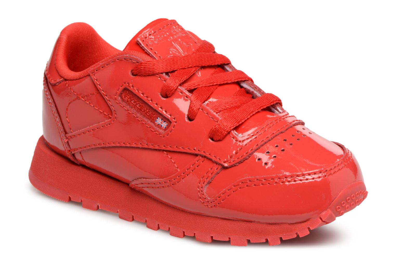 Sneakers Reebok Classic Leather Patent I Rosso vedi dettaglio/paio