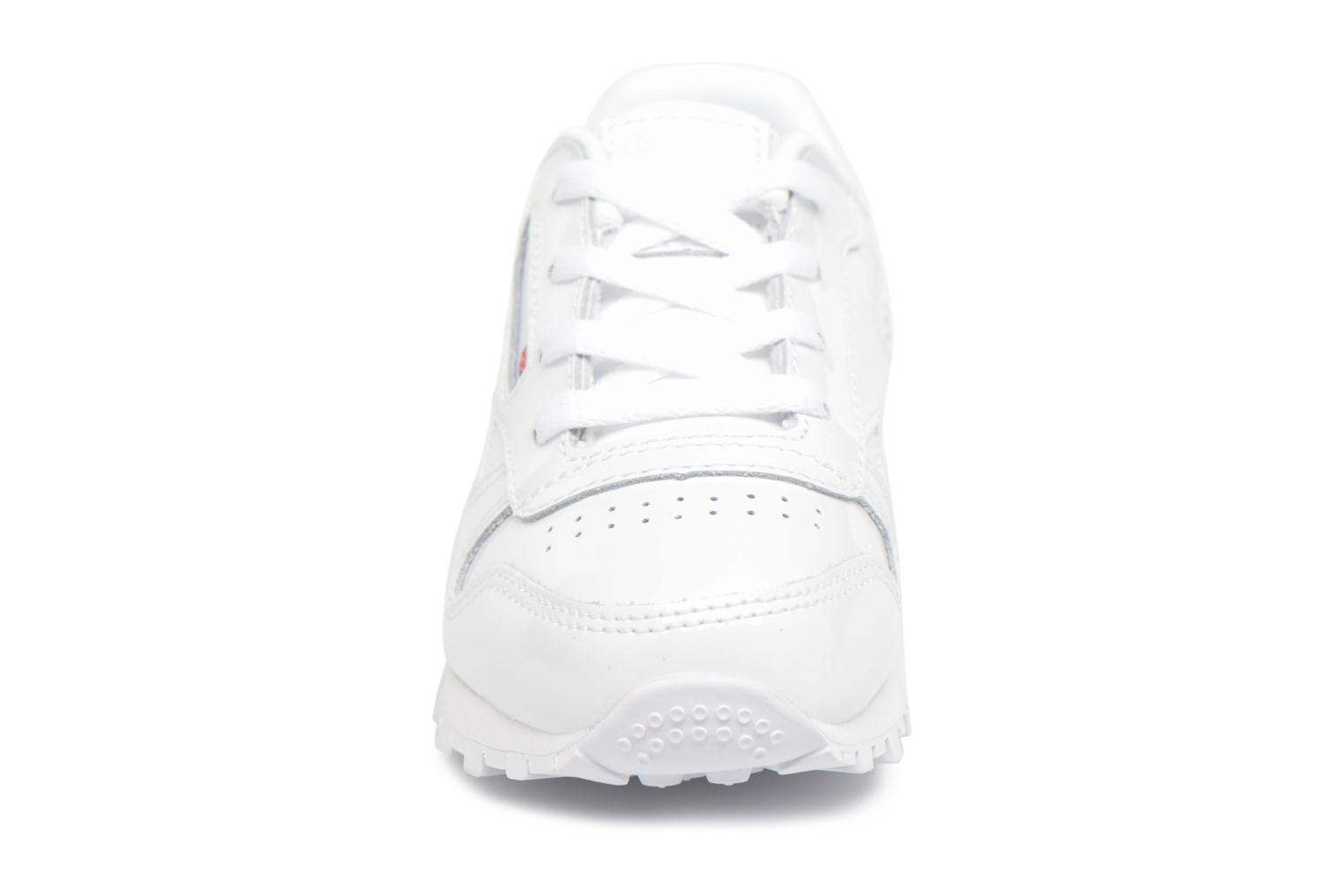 Classic Leather Patent I White