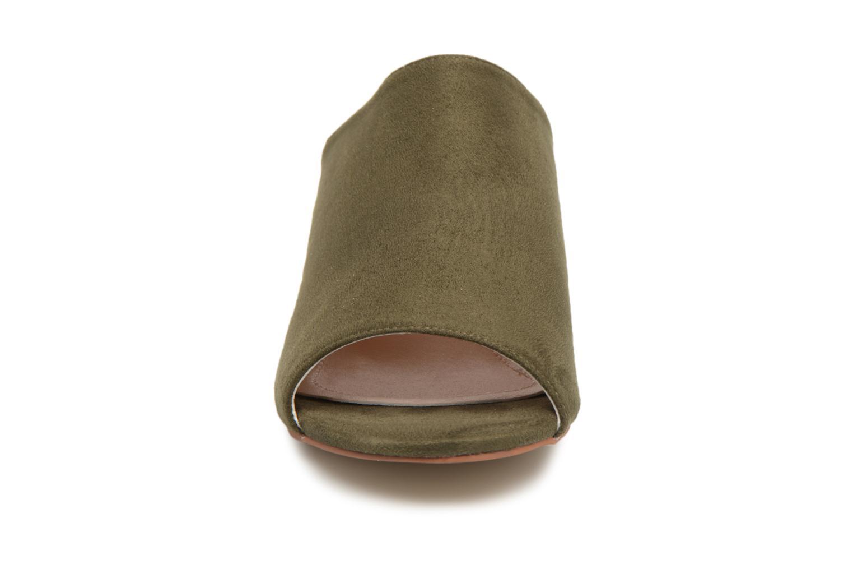 Mules et sabots I Love Shoes CAMULE Vert vue portées chaussures