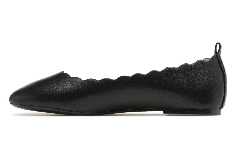 Ballerines I Love Shoes CAFESTON Noir vue face