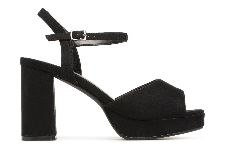 Sandales et nu-pieds I Love Shoes LAPAIX Noir vue derrière