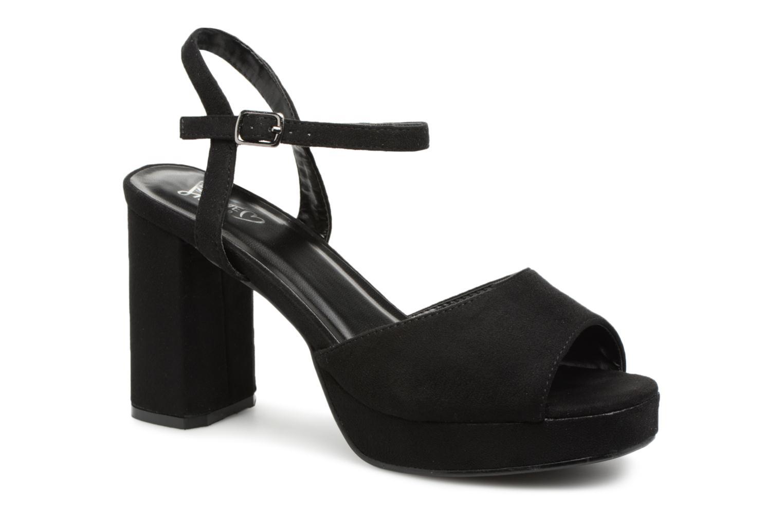Sandales et nu-pieds I Love Shoes LAPAIX Noir vue détail/paire