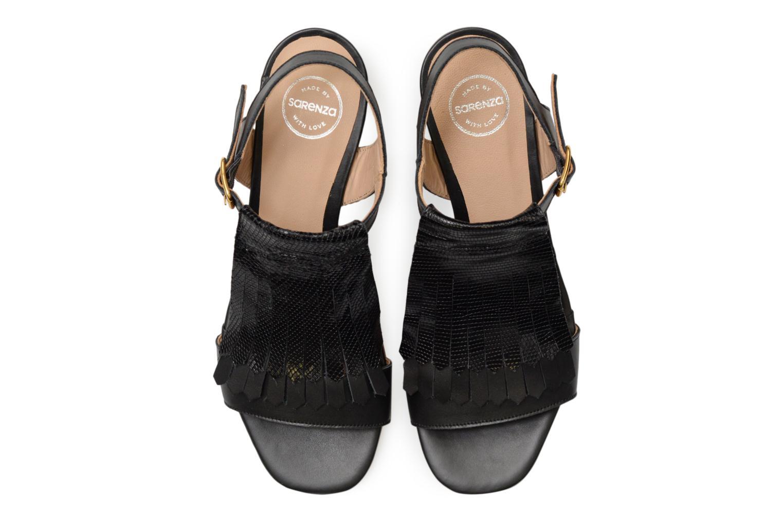 Sandales et nu-pieds Made by SARENZA Carioca Crew Sandales à Talons #2 Noir vue portées chaussures