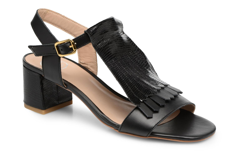 Sandales et nu-pieds Made by SARENZA Carioca Crew Sandales à Talons #2 Noir vue droite