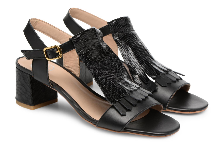 Sandales et nu-pieds Made by SARENZA Carioca Crew Sandales à Talons #2 Noir vue derrière