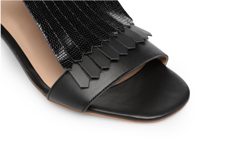 Sandales et nu-pieds Made by SARENZA Carioca Crew Sandales à Talons #2 Noir vue gauche
