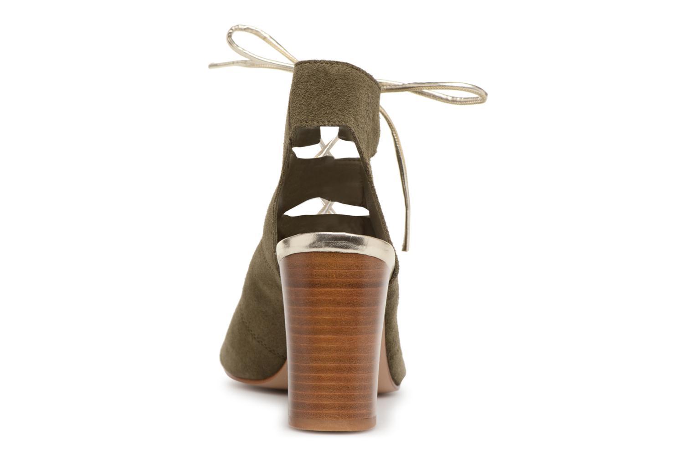 Sandales et nu-pieds Georgia Rose Calista Vert vue droite