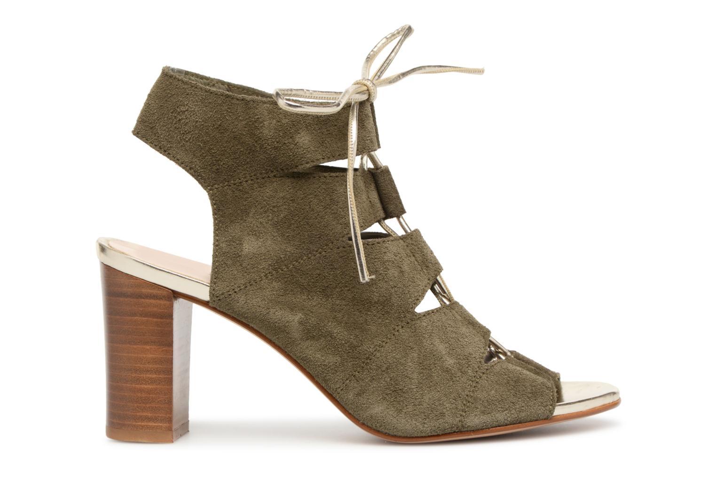 Sandales et nu-pieds Georgia Rose Calista Vert vue derrière