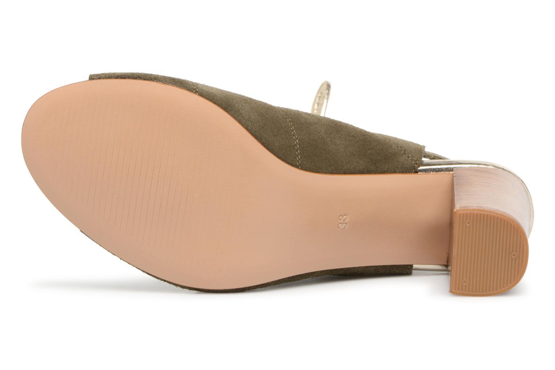 Sandales et nu-pieds Georgia Rose Calista Vert vue haut