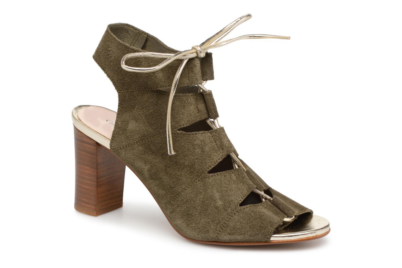Sandales et nu-pieds Georgia Rose Calista Vert vue détail/paire
