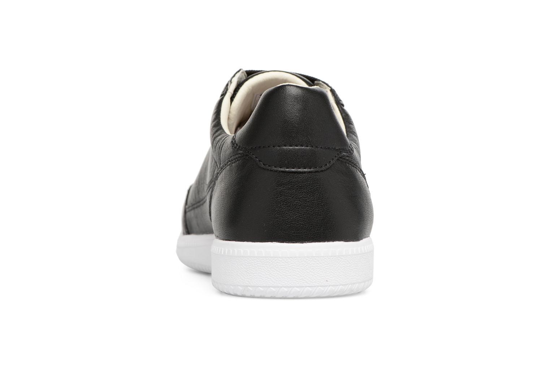 Sneakers Geox U KEILAN B U824DB Zwart rechts