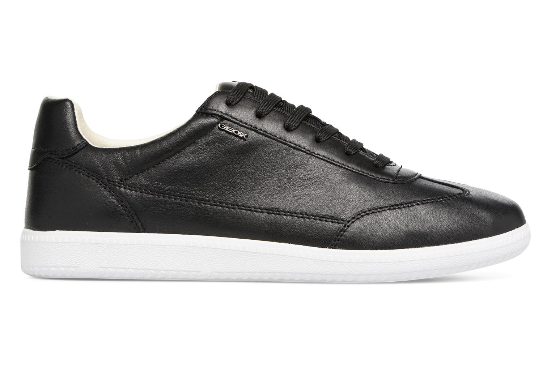 Sneakers Geox U KEILAN B U824DB Zwart achterkant