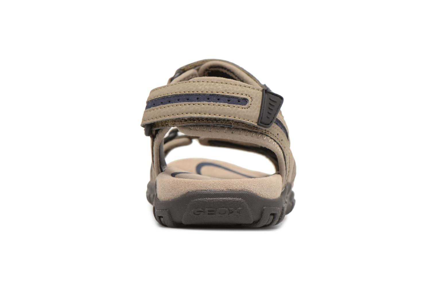 Sandals Geox U S.STRADA D U8224D Beige view from the right