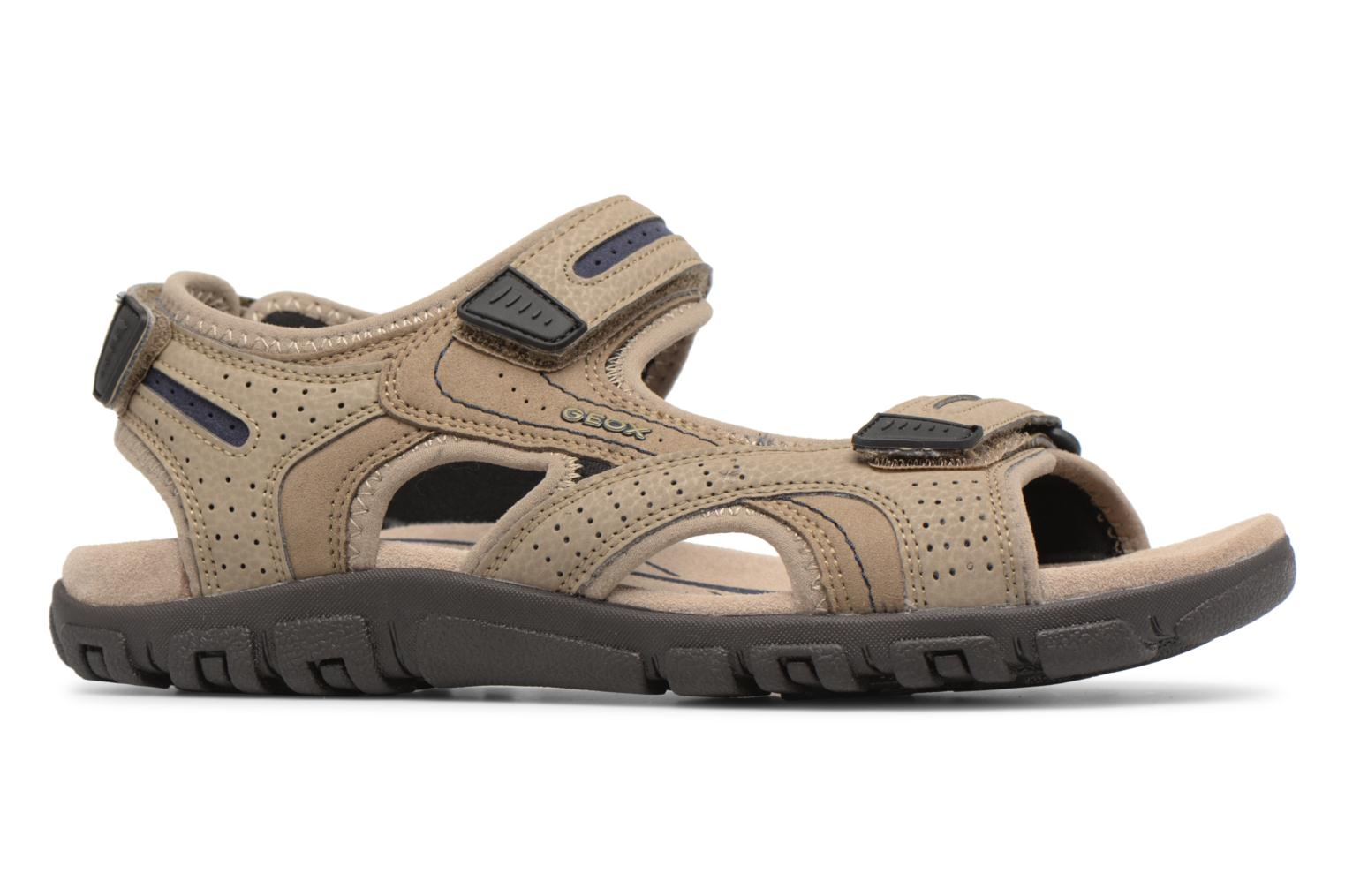 Sandals Geox U S.STRADA D U8224D Beige back view