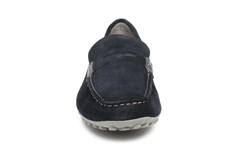 Loafers Geox U SNAKE MOC A U8207A Blue model view