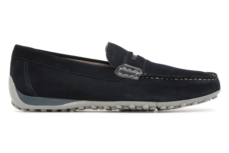 Loafers Geox U SNAKE MOC A U8207A Blue back view